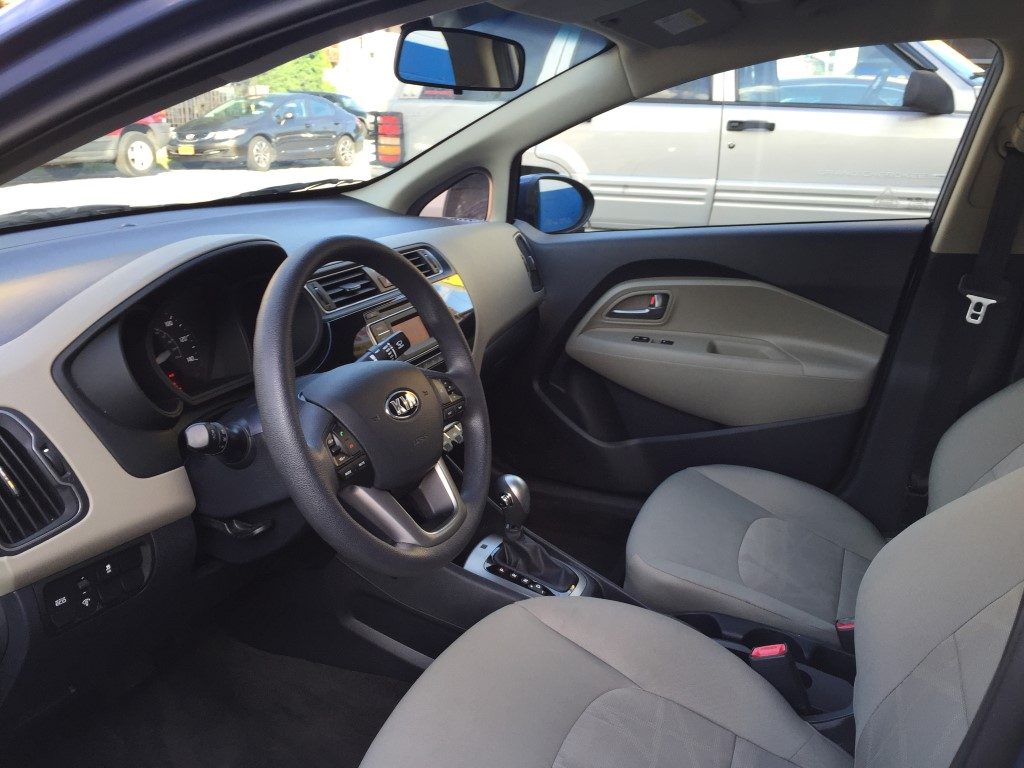 Used kia rio lx sedan for sale in staten island ny