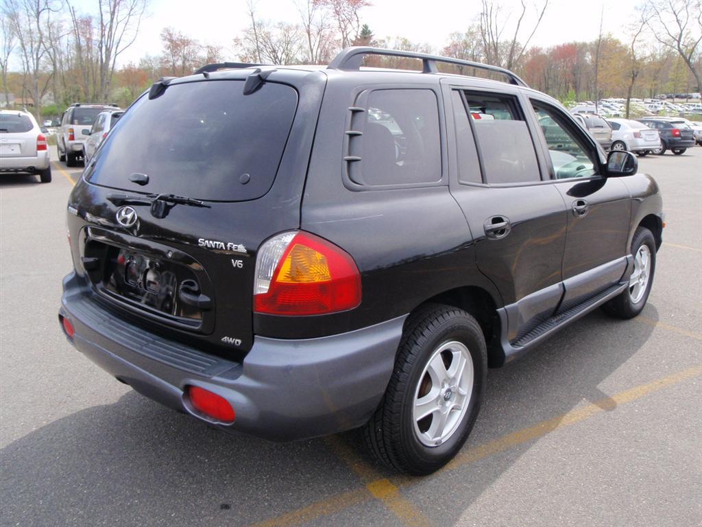 offers used car for sale 2004 hyundai santa fe gls sport utility 4 990. Black Bedroom Furniture Sets. Home Design Ideas