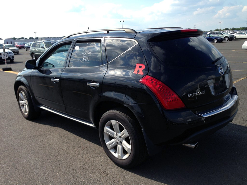 used 2007 nissan murano s awd 6. Black Bedroom Furniture Sets. Home Design Ideas