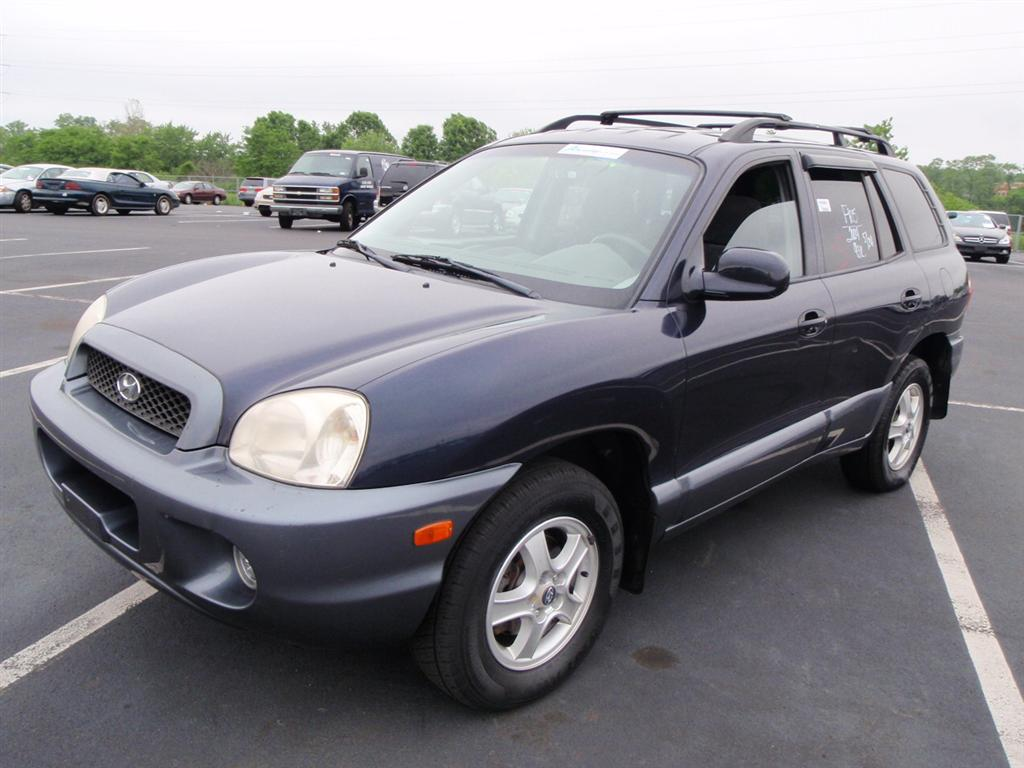 offers used car for sale 2004 hyundai santa fe gls sport utility 4wd. Black Bedroom Furniture Sets. Home Design Ideas