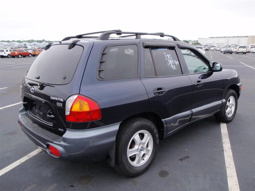 offers used car for sale 2004 hyundai santa fe gls sport utility 4wd. Black Bedroom Furniture Sets. Home Design Ideas