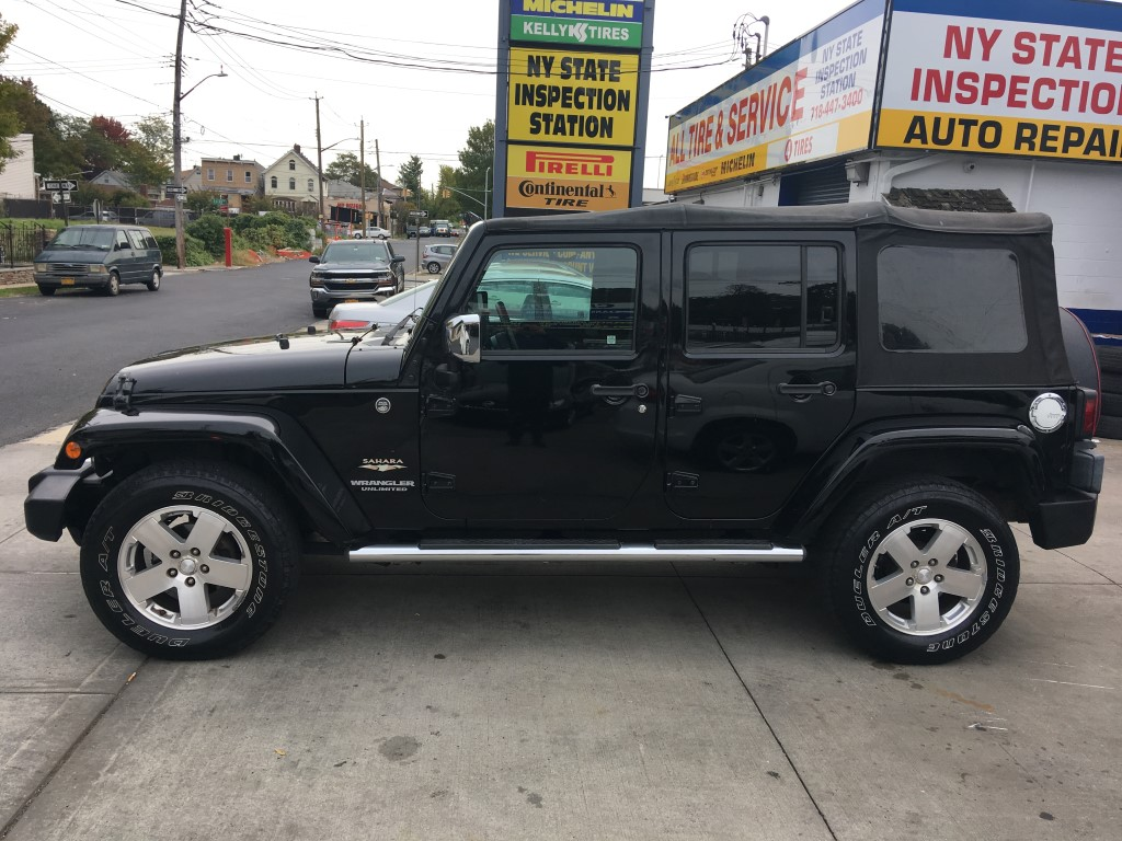 Used - Jeep Wrangler Unlimited Sahara 4x4 SUV for sale in Staten Island NY