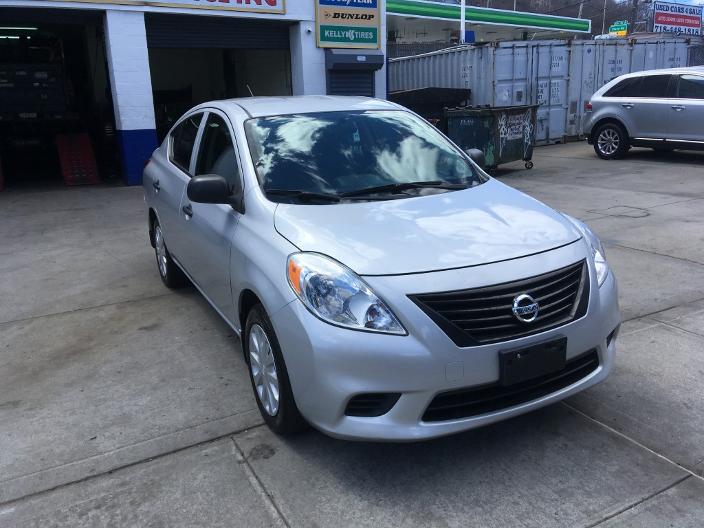 Used - Nissan Versa S Sedan for sale in Staten Island NY