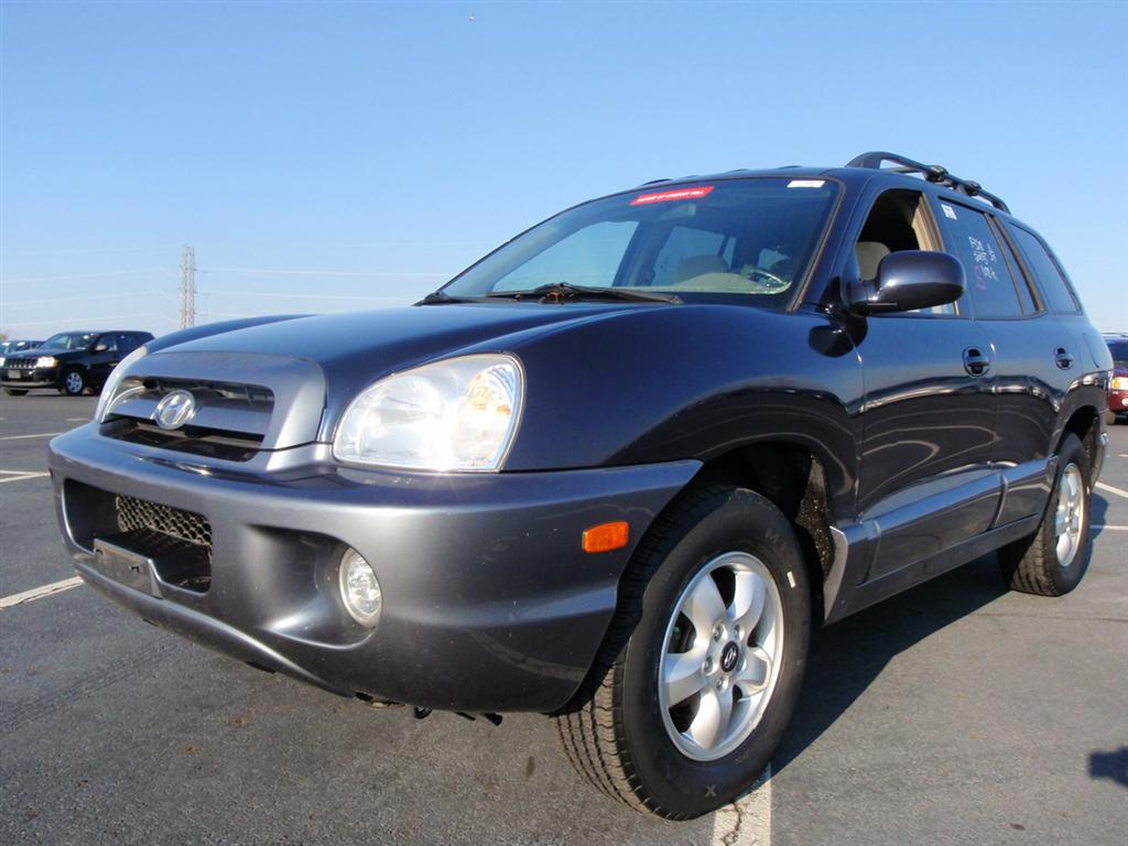 offers used car for sale 2005 hyundai santa fe gls sport utility 5 990. Black Bedroom Furniture Sets. Home Design Ideas