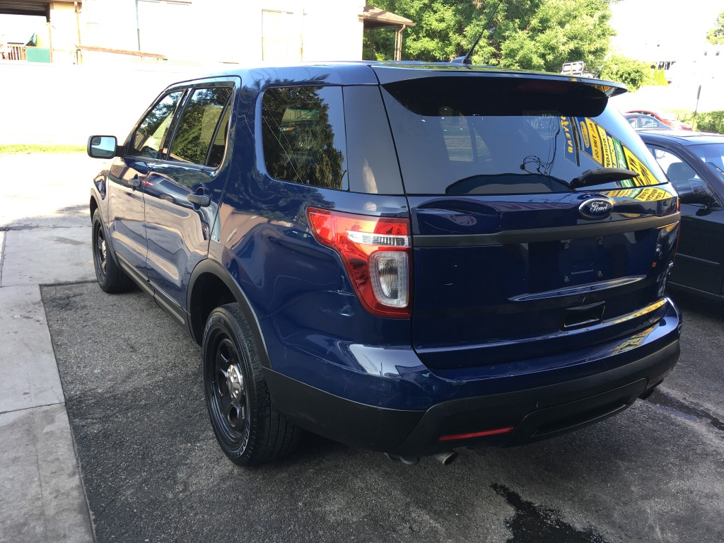 Used - Ford Explorer Police Interceptor AWD SUV for sale in Staten Island NY